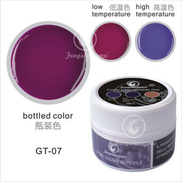Wholesale New Soak Off Color Changeable Gel UV Gel High Toughness Gel Change Color From Temperature