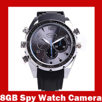 Wholesale 8GB P Waterproof Spy Watch Camera mini DV IR Night Vision DVR