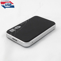 Wholesale USB3 quot SATA HDD Box external hard drives Box enclosure Case supports TB