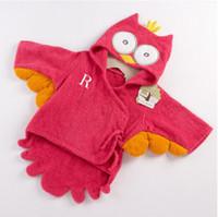 Boys baby thermal wear - baby BeachTowel Children s bath towels baby hooded bathrobe bath towel bath baby animals wears