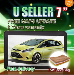 Wholesale Promoting Off quot Car GPS Navigation with Bluetooth AV IN M G Windonc CE Free gift