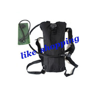 Wholesale army backpack water L black hydration packs hiking travel camping backpack water bag