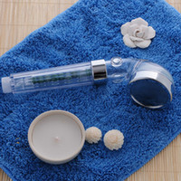 Wholesale The nd Generation SPA Hand Massaging Shower Head PC Material Water Filter Removes Chlorine Toxins