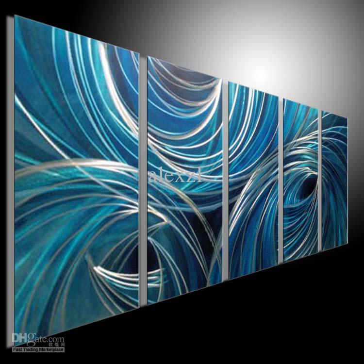 Metal Wall Art 100 Handmade Painting Sculpture Indoor
