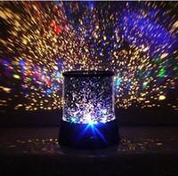 Wholesale FEDEX Free new amazing LED star master light star projector led night light A008 AB1687