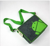 Wholesale 2012 messenger bag DIY GeekCook Android messenger bag Leisure bag Shoulder bag Inclined Satchel bag