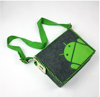 Wholesale Messenger bag Shoulder bag DIY GeekCook Android messenger bag Leisure bag Inclined Satchel bag