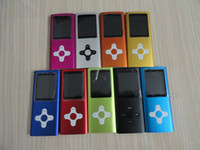 Wholesale 50pcs th Gen MP3 MP4 player GB GB inch screen with External speaker mix color