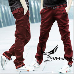 Wholesale Korean men s pants new men casual pants slacks straight trousers promotion