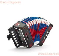 Wholesale Mini musical instrumen child accordion child musical instrument piano paint organ high quality