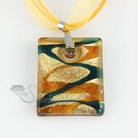 Cheap china jewelry fashion jewelry Baratos-elegante cristal de Murano brillo lampeork hechos a mano colgantes Italia para joyería collares de la joyería de China barata de joyería de moda MUP105