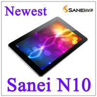 Wholesale 10 quot Sanei N10 IPS Capacitive Tablet PC G Andriod GB WIFI G HDMI D P bluetooth