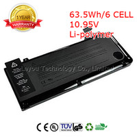 Wholesale 63 Wh Cell A1322 Original Laptop Battery For APPLE MacBook Pro quot MB990LL A MB991LL A A1278
