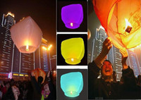 8-11 Years Multicolor Paper Chinese Kongming lantern Sky Lanterns Wishing Lantern fire balloon Birthday Lanterns