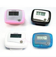 Wholesale good quality Digital Pocket LCD Pedometer Mini Single Function Pedometer Step Counter