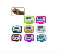 Wholesale new arrival Digital Pocket LCD Pedometer Mini Single Function Pedometer Step Counter