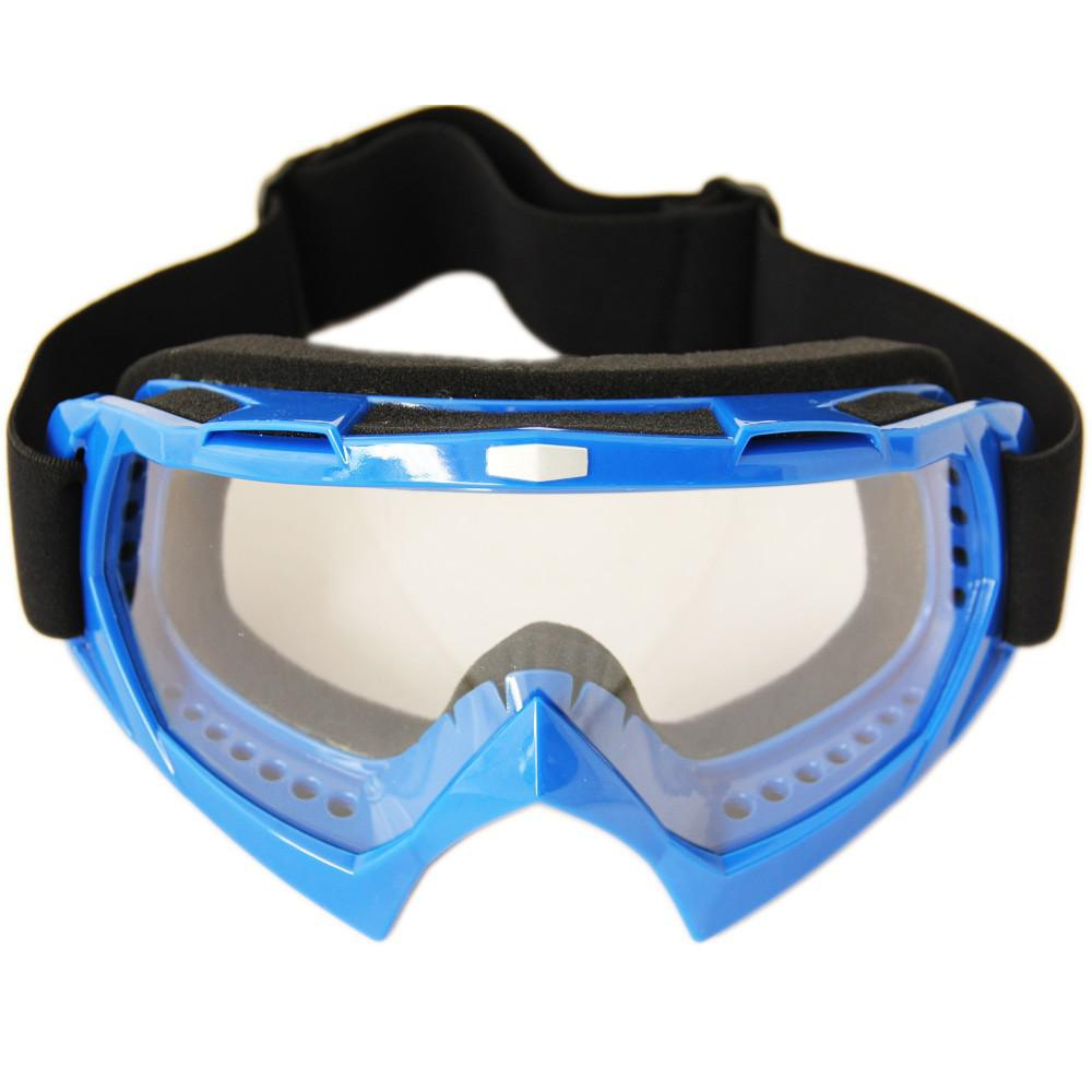 motocross goggles  Blue Goggle For Adult Motorcycle Motocross Goggles Motorcycle Atv ...