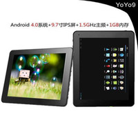 Wholesale YOYO9 quot Capacitive Screen Android GB DDR3 GB Tablet PC with Web Camera WIFI G Sample