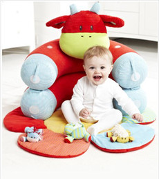Wholesale Blossom Farm Clover Cow Sit Me Up Cosy Baby seat Baby sofa Baby bed for months baby toys
