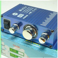 Wholesale Hot sell V Small Stereo High Power Amplifier W W CH PSU F MP3 Car Home Audio
