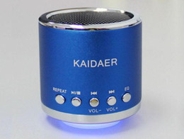 New Mini Music Angel KD-MN01 Multimedia Loudspeak Speaker Box Micro SD Card Speaker for MP3 MP4