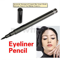 Waterproof Liquid Black Hot Selling!!!Universal Waterproof Liquid Eye Liner Black Eyeliner Pencil Pen Makeup Cosmetic