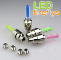 Wholesale High Quality Car Bike Bicycle Tire Wheel Valve Led Flash Light Cycling