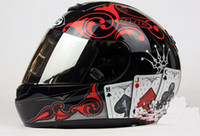 Wholesale HJC CS R1 Poker Motorcycle helmet the latest Full Face Motorcycle helmet