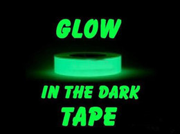 Wholesale Luminous Fluorescent Tape Self luminous wall sticker night alarm guide glow in the dark