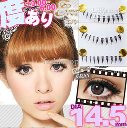 Wholesale 2012 Fashion False Eyelashes Pure manual Lower Eye lashes Transparent Terrier False Eyelash JKMR