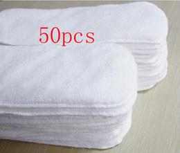 En gros 50pcs inserts bébé couches de couches de couches de couches Inserts Nouvelle vente chaude Livraison gratuite