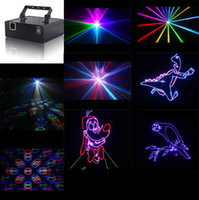 Wholesale ILDA RGB Show Laser Light Red Green Blue Mixed Colors Stage Projector DJ Equipment lighting RGB