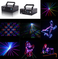 Wholesale 2014 DHL mW Show Laser Light Red Green Blue w RGB full color animation laser Stage light RGB