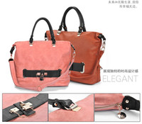 2colors options Fashion Womens Fashion pu Leather handbag Sh...