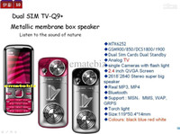 Wholesale 1 new arrival china Q9 cell phone sim band inch Bluetooth FM TV MP3 MP4 Single Cameras