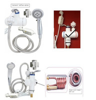 Wholesale Shower water heater genuine send leakage protection seconds thermal water Shower
