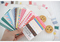 Wholesale New Colorful DIY masking sticker set cute Sign post Label