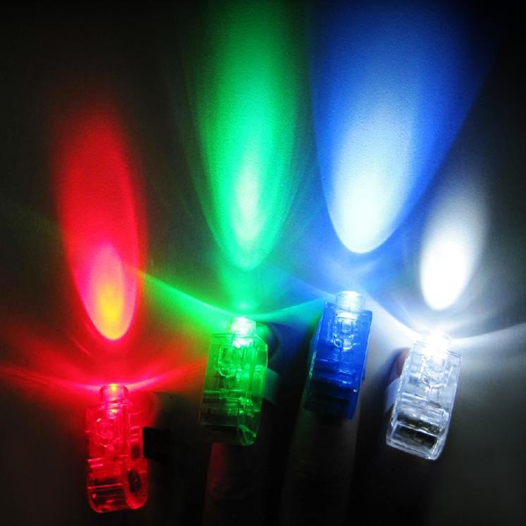 Led Bright Finger Ring Lights