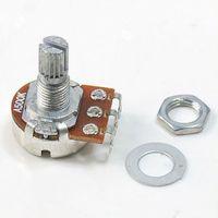 Wholesale 10pcs New A500K Split Shaft Pots Potentiometer Guitar Audio Tone Switch
