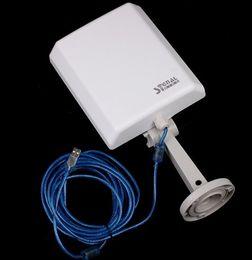 Панель направленной антенны Онлайн-Сигнал короля 8TN беспроводной USB WiFi антенны на открытом воздухе с направленным 20dbi плоской антенной 150Mbps
