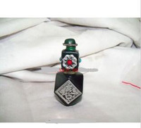 Wholesale The beeswax package silver snuff bottles