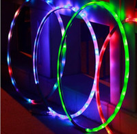 Wholesale LED toys Shine hula hoop LED light design style mother Exercise toys hot sell good baby