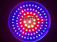 Wholesale LED grow light New W LED UFO Red460NM amp NM amp White Plant Hydroponic Lamp plant