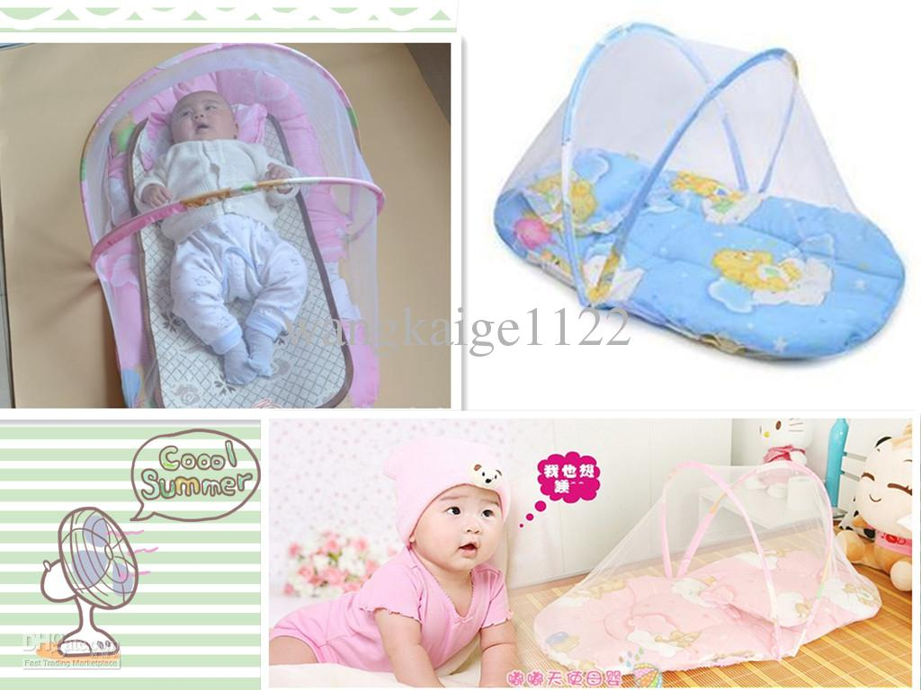 Baby bed net - Clippasafe Cot Insect Net Infant Crib Mosquito Net Baby Safety Net Easy To Carry And