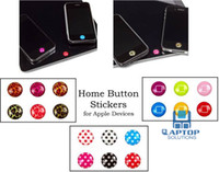 Wholesale Home Button Sticker For Iphone S Ipad New ipad Ipod All apple products Cute Cartoon