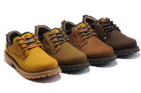Ankle Boots work boots for men - Fashion Men leather leisure boots discount mens shoes for working