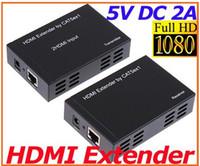 HDMI balun converter - HDMI converter Balun Extender over One CAT5E CAT6 HDMI Transmitter Receiver
