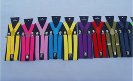 Wholesale Brand New Mens Ladies Faux Y shaped Braces Suspenders