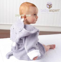 baby hippo blanket bathrobe baby robes receiving blankets bath towel amice gown bath turban SH844