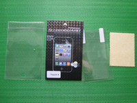 Wholesale Crystal Clear LCD Film Screen guard protector for ipod touch th Gen